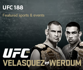 UFC 188 on Shaw Pay-Per-View