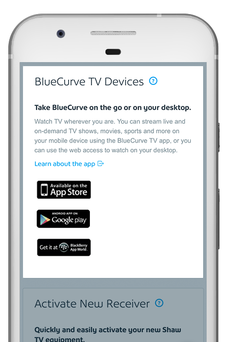 bluecurve tv