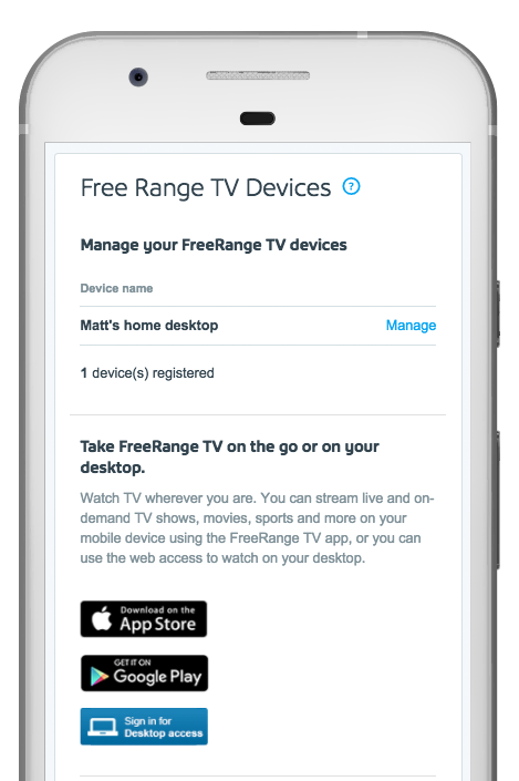 freerange tv