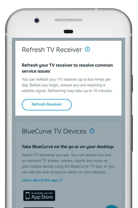 refresh receiver