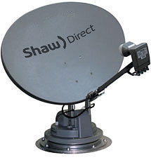 Shaw satellite hook up