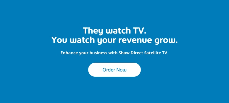 Order Shaw Direct for Business