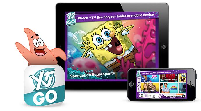 Shaw Go YTV app