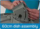 Install 60 cm Satellite Dish