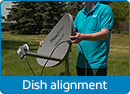 Satellite Dish Alignment