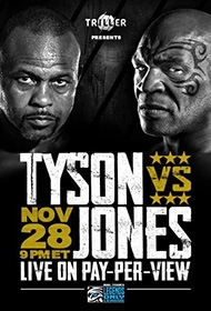 PPV Boxing: Mike Tyson vs Roy Jones Jr.