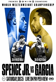 PPV Boxing: Spence Jr. vs Garcia
