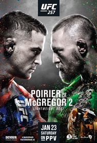 UFC 257: Poirier vs McGregor 2